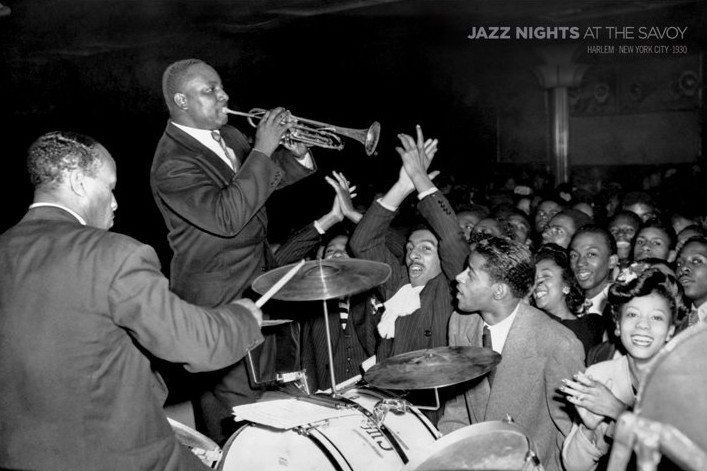Plakat Jazz nights