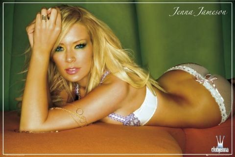 Plakat Jenna Jameson - underwear