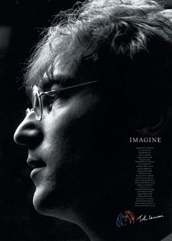 Plakat John Lennon - imagine