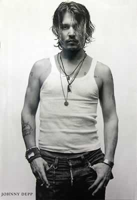 Plakat JOHNNY DEPP - bad boy