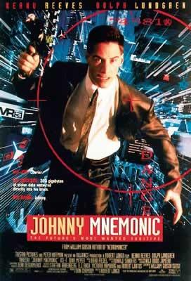 Plakat JOHNNY MNEMONIC - Keanu Reeves
