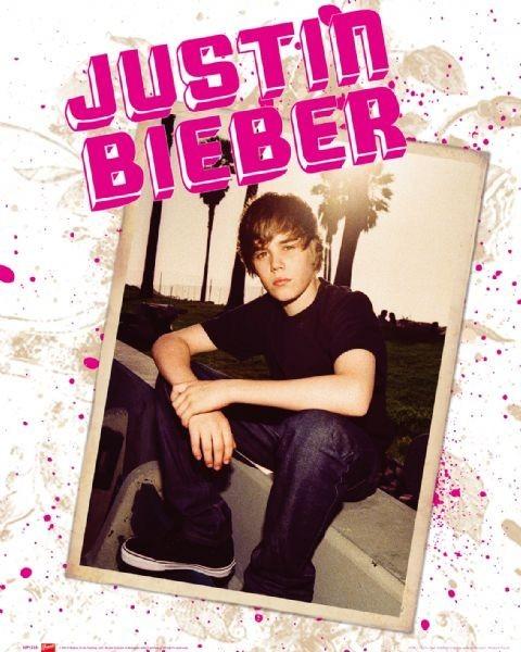 Plakat Justin Bieber - photo