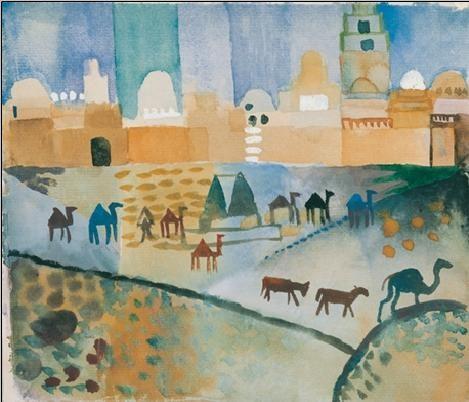 Reprodukcja Kairouan I, 1914