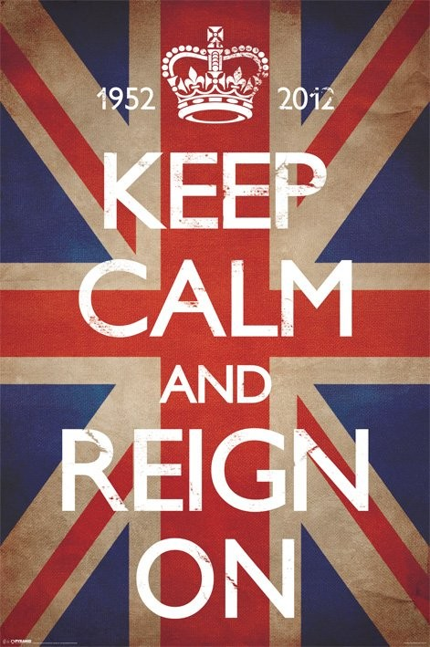 Plakat Keep calm and reign on