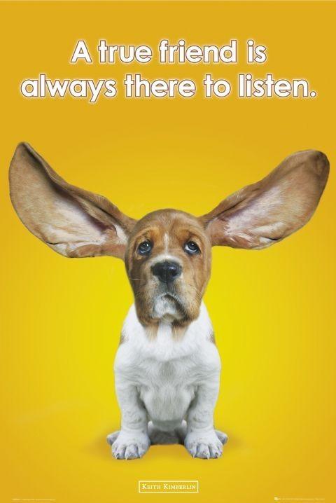 Plakat Keith Kimberlin - ears
