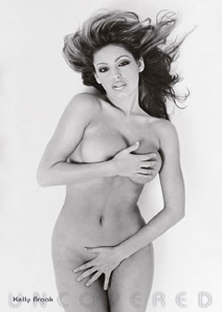 Plakat Kelly Brook – uncovered
