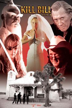 Plakat KILL BILL - chapel