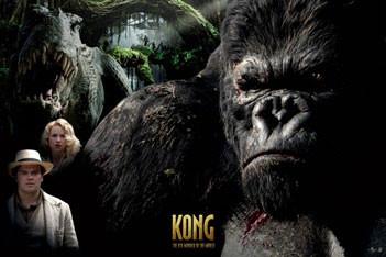 Plakat KING KONG - montage