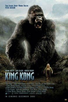Plakat KING KONG - roar one sheet