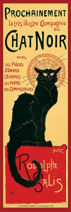 Plakat Le Chat noir - Steinlein