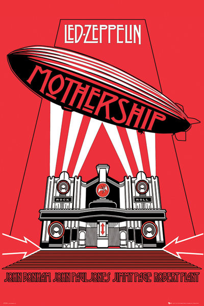 Plakat Led Zeppelin – mothership