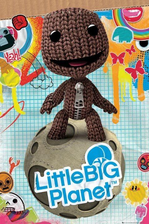 Plakat Little big planet - sackboy