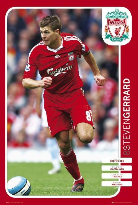 Plakat Liverpool - gerrard 08 09