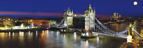 Plakat Londyn – tower reichold
