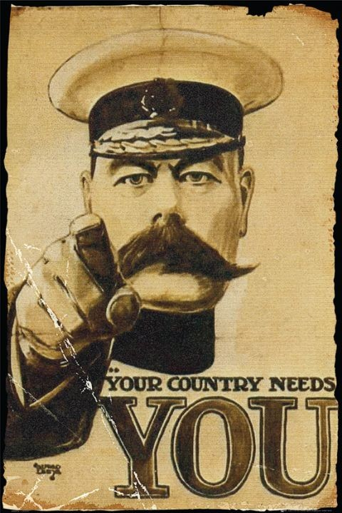 Plakat Lord Kitchener - your country needs you