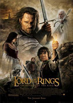 Plakat Lord of the Rings -one sheet