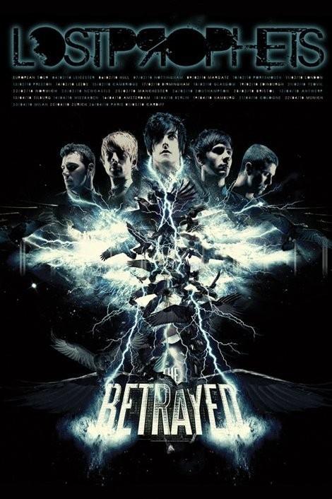 Plakat Lostprophets - the betrayed