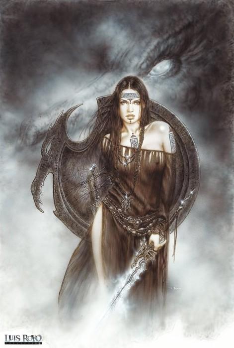 Plakat Luis Royo - dragon spirit