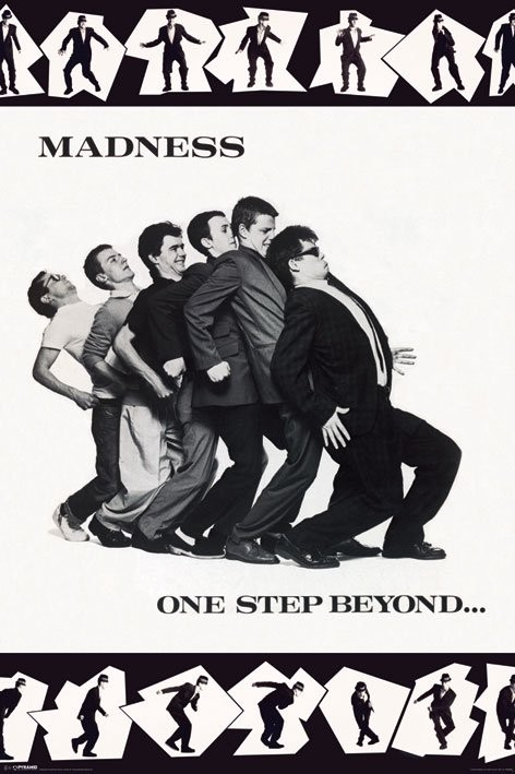 Plakat Madness - one step boyond