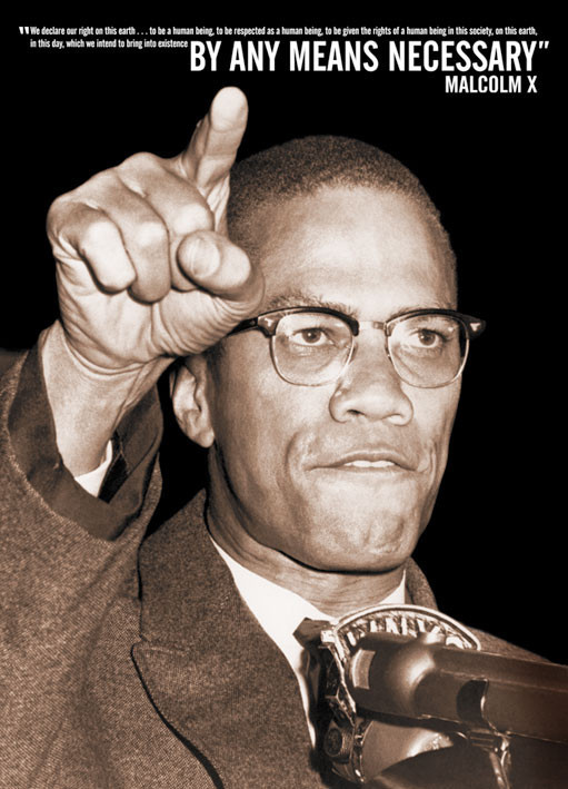 Plakat Malcolm X