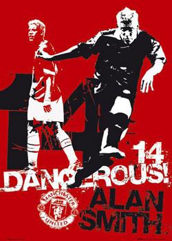 Plakat Manchester United - dangerous