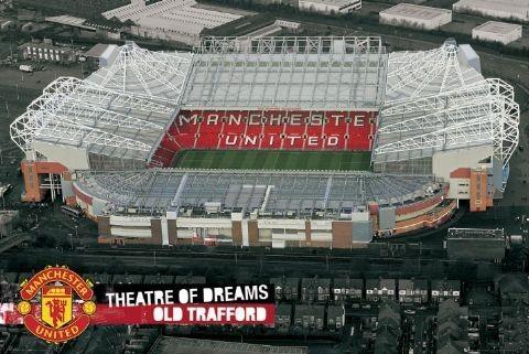 Plakat Manchester United - theatre new