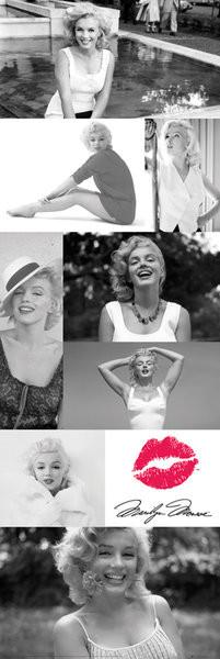 Plakat Marilyn Monroe - Tiles
