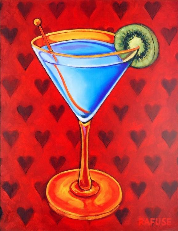 Reprodukcja Martini Royale - Hearts