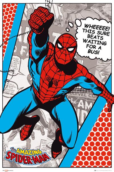 Plakat MARVEL - spider-man