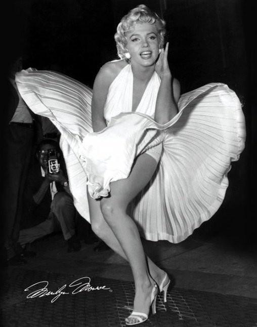 Plakat Marylin Monroe - seven years