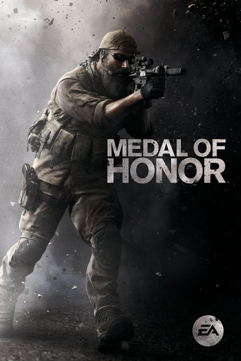 Plakat Medal of Honor - assault