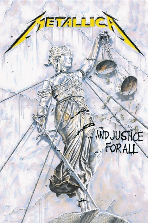 Plakat Metallica - justice for all