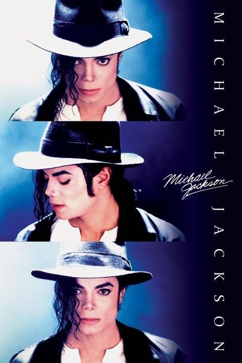 Plakat MICHAEL JACKSON - triptych