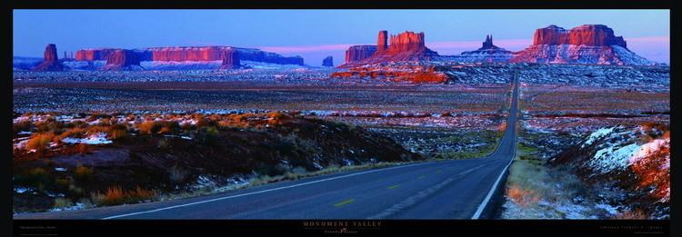 Reprodukcja Monument Valley
