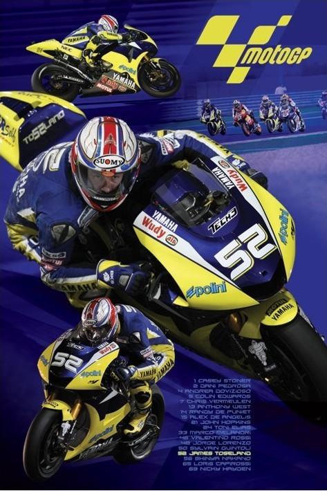 Plakat Moto GP - toseland