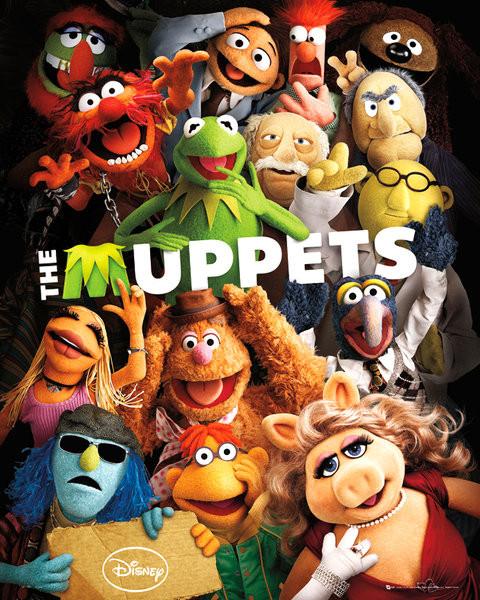 Plakat MUPPETS - teaser