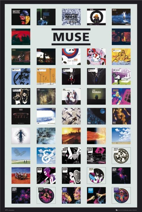 Plakat Muse - covers