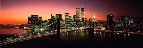 Plakat NEW YORK - brooklyn bridge