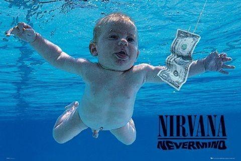 Plakat Nirvana - nevermind