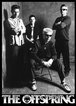 Plakat Offspring - group b&w