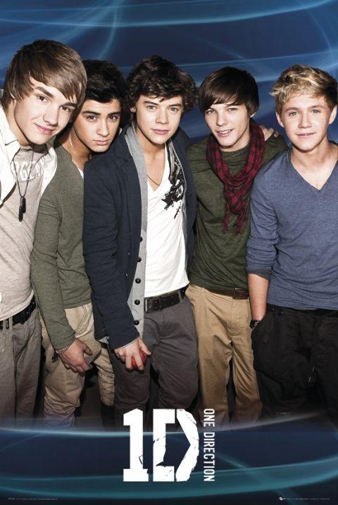 Plakat One Direction Blue
