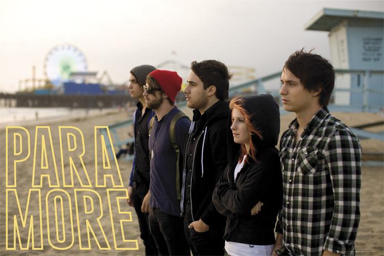 Plakat Paramore – beach
