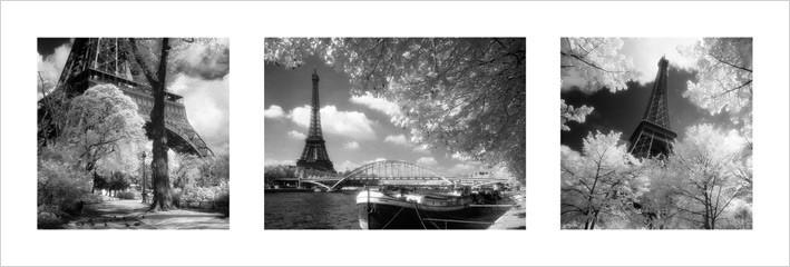 Reprodukcja Paryz - Triptych