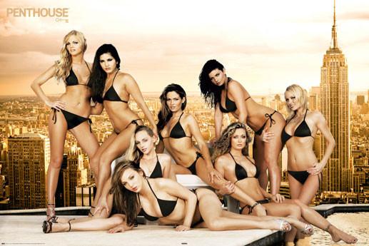 Plakat Penthouse - roof Girls