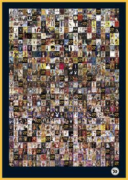 Plakat Playboy - 1953-2002