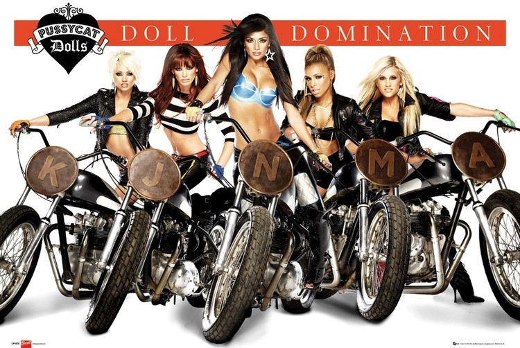 Plakat Pussycat Dolls - doll domination