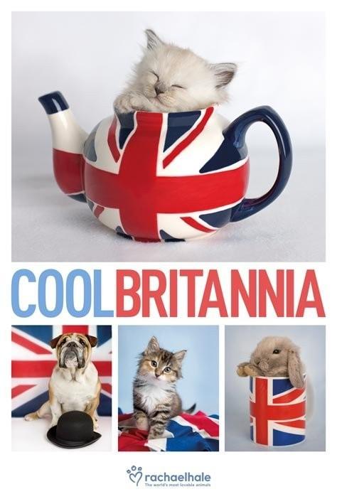 Plakat Rachael Hale - cool britannia