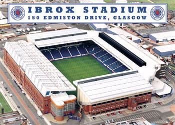 Plakat Rangers - ibrox stadium