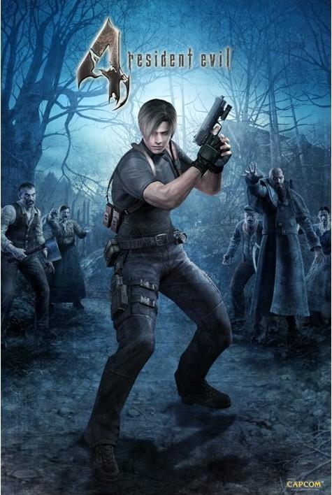 Plakat RESIDENT EVIL 4 - woods
