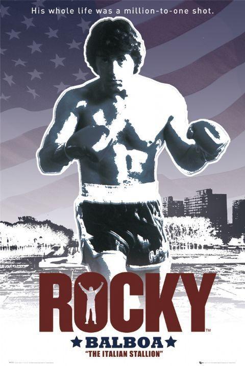 Plakat ROCKY - flag